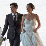 Justin Bartha and Lia Smith Wedding Pictures