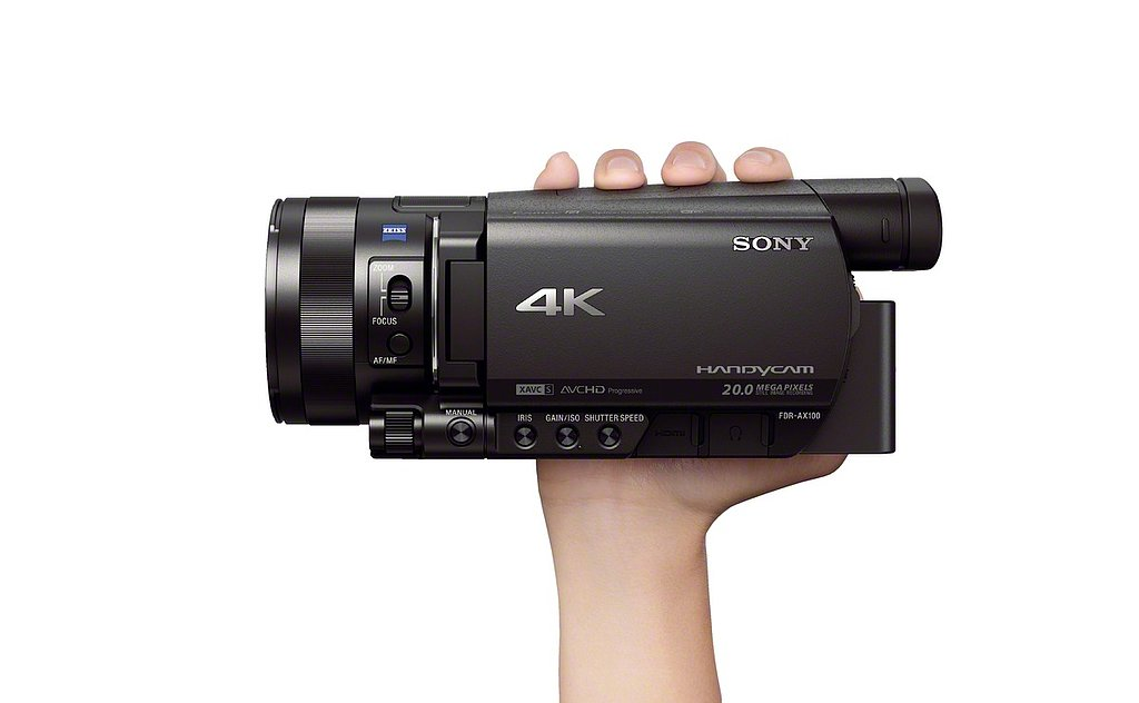 High-Res Home Video: See Sony's 4K Camcorder From All Angles