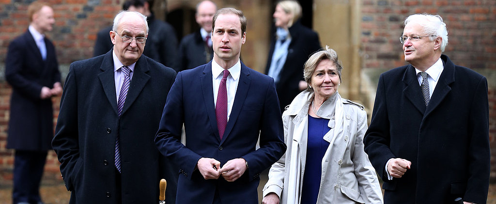 Prince William Remains Dapper, Even on His First Day of School