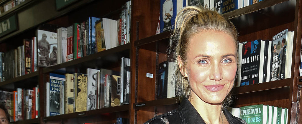 Cameron Diaz Trades No Makeup For a Barely There Approach