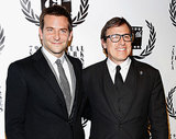 Bradley Cooper posed with American Hustle director David O. Russell.