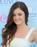 At the 2013 Teen Choice Awards, Lucy had her hair styled in loose beach waves that showed off her ombré hair tint.