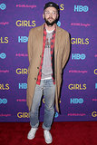 Chris Benz at the Girls premiere.