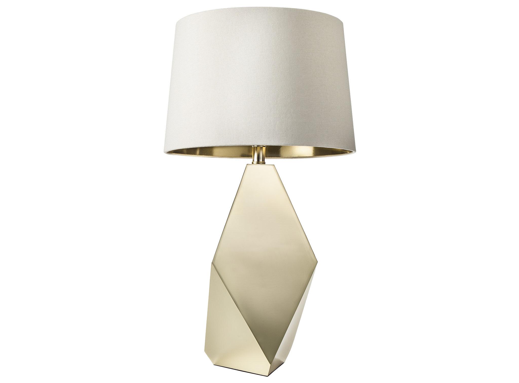 Gold Table Lamp Base ($55) and Gold Lining Lamp Shade ($25)  POPSUGAR ...