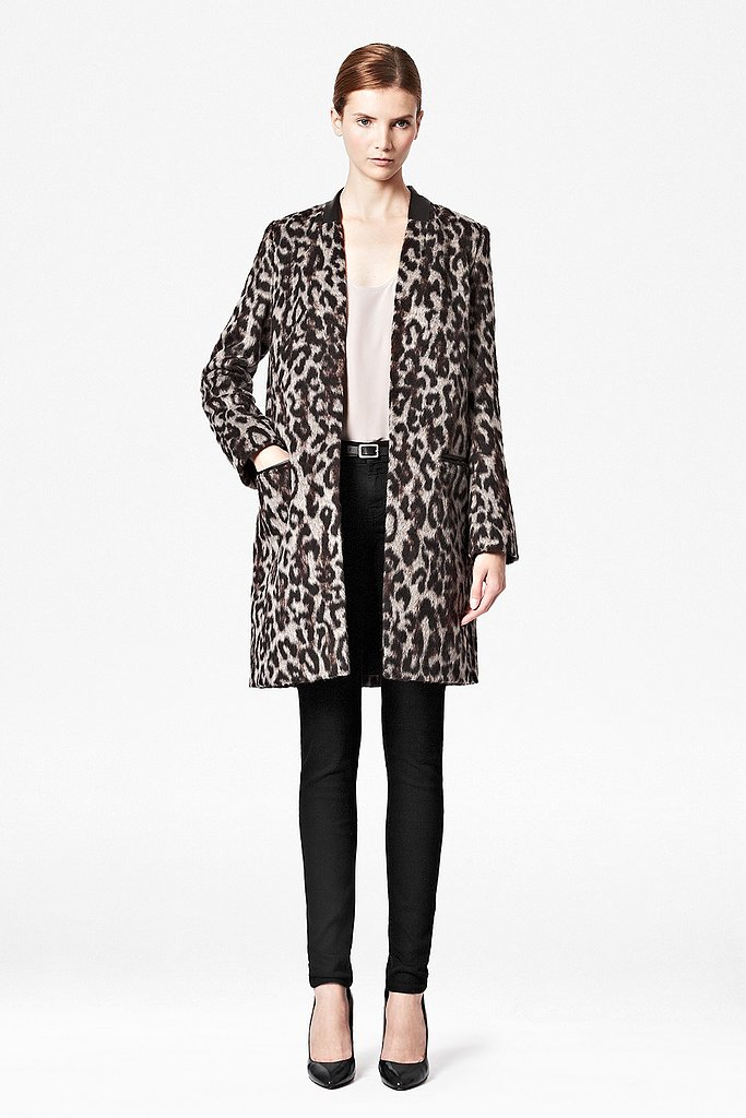 French Connection Teddy Leopard Coat ($280, originally $298)