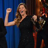 Gisele Bundchen Plays Flip Cup