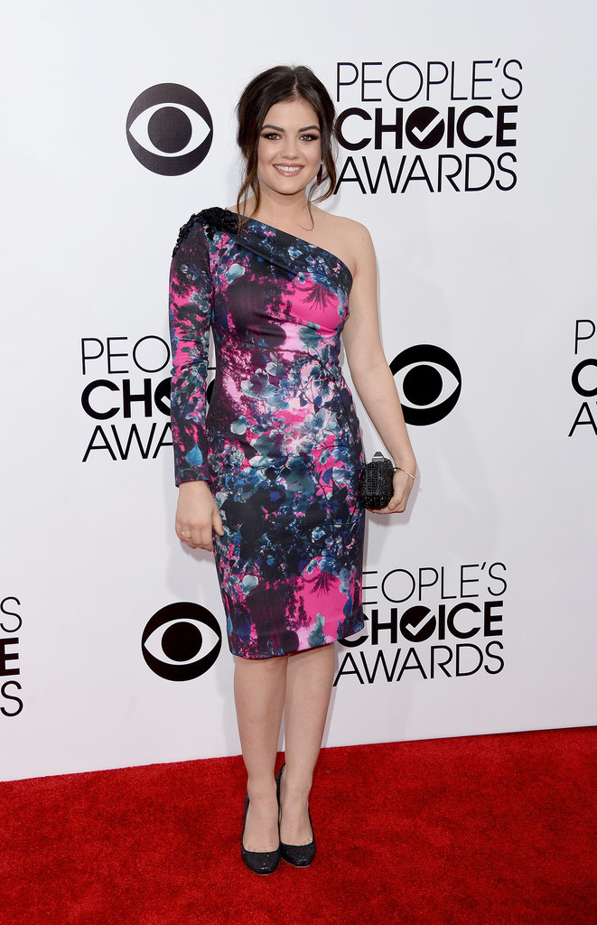 Lucy Hale at the People's Choice Awards 2014