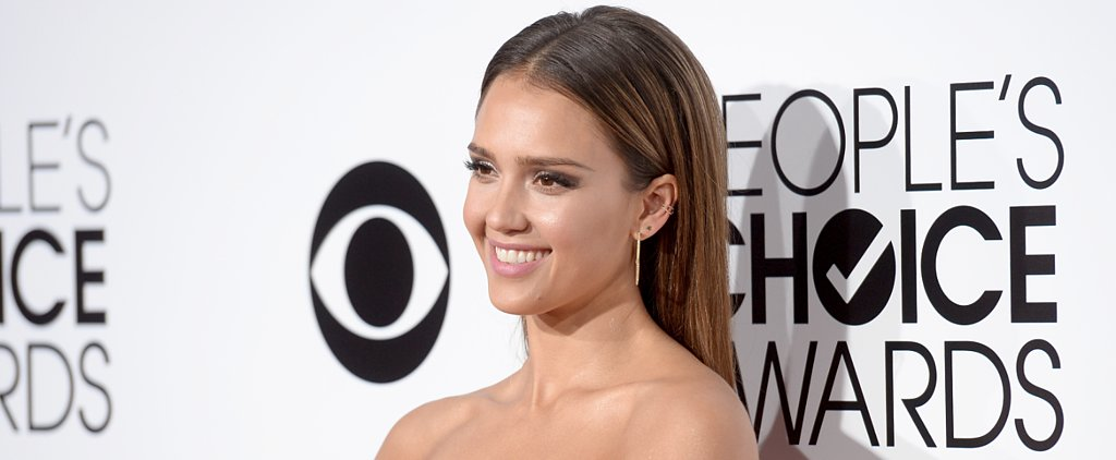 Whoa! Watch Out For Jessica Alba's Gunmetal Smoky Eyeshadow