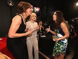 Sandra Bullock got animated with Allison Janney and Anna Faris.