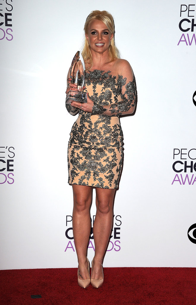 Britney Spears at the People's Choice Awards 2014