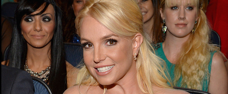 Britney Spears Hit Us One More Time With a Familiar Look