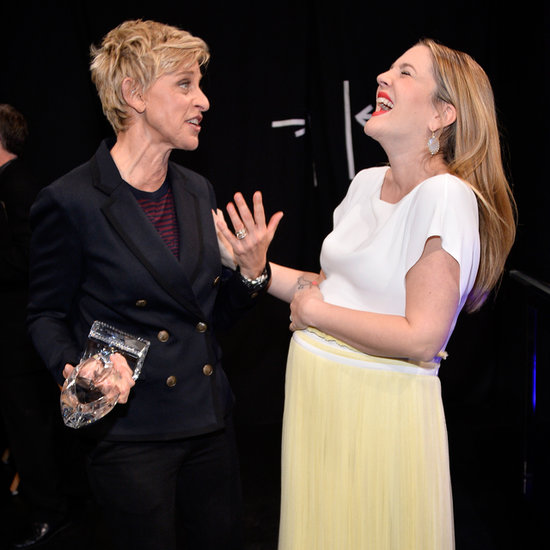 Candid Backstage Photos at 2014 People's Choice Awards