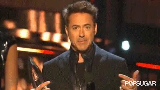 When RDJ Requested a Spotlight, and Received It