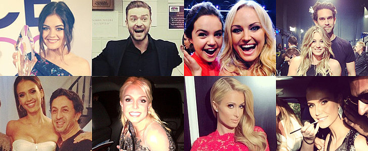 Celebrities Take Us Behind the Scenes For the People's Choice Awards!