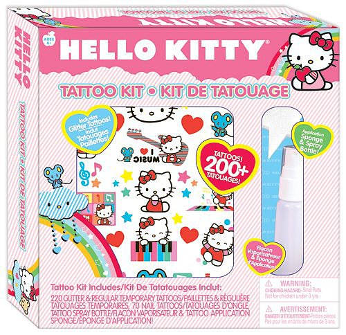 Hello Kitty Tattoo Kit
