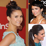 The Braid Diaries: Nina Dobrev's Best Plaits, Ponys, and Updos