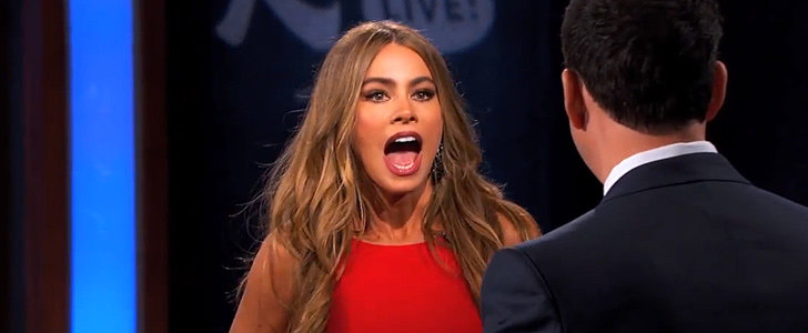 "Sofia Vergara to Jimmy Kimmel: ""My Penis Is Bigger Than Yours!"""
