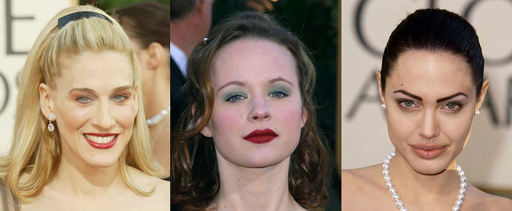 Golden Globes Hair and Makeup Looks That Are Best Forgotten