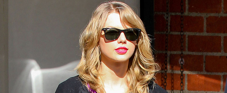 Celeb Gym Editon: Taylor Swift Makes Like a Ballerina