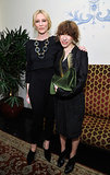 Cate Blanchett and her Blue Jasmine costar Sally Hawkins both wore black.