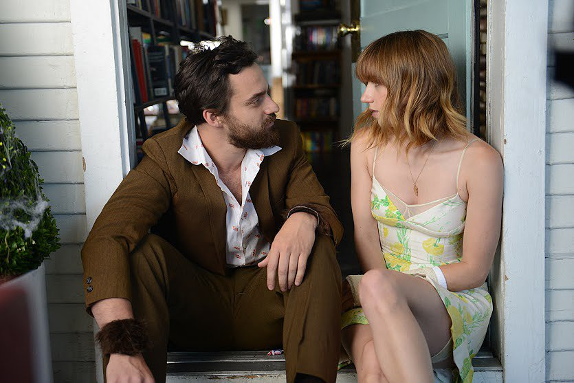 Jake Johnson and Zoe Kazan costar. Source: DADA Films
