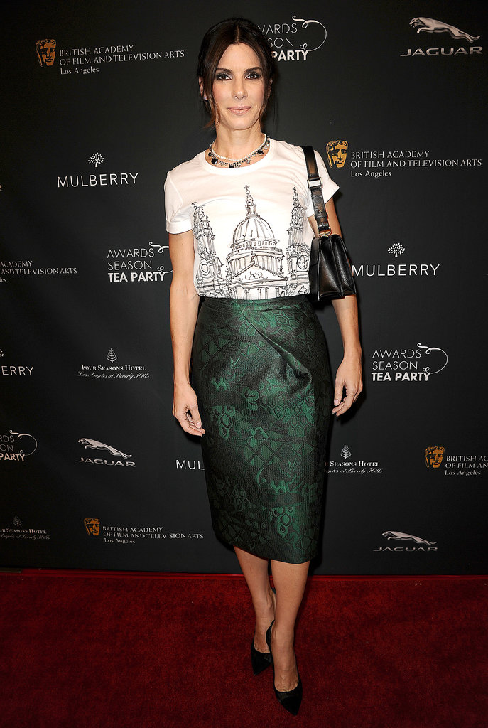 Sandra Bullock at the BAFTA Awards Season Tea Party