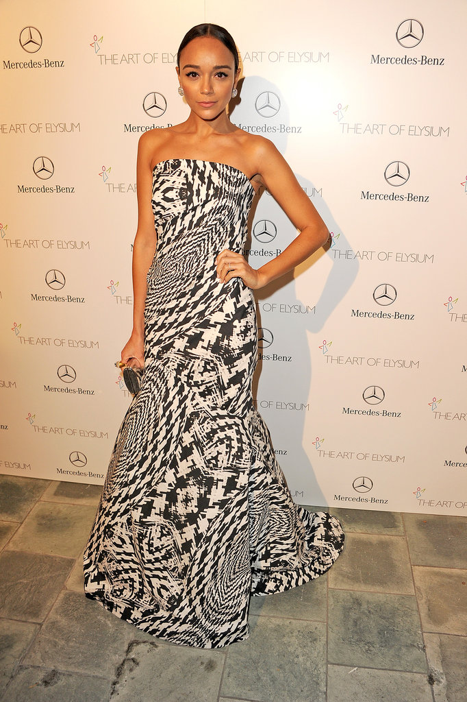 Ashley Madekwe at the Art of Elysium Heaven Gala 2014