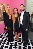 Gwyneth Paltrow, Jennifer Meyer, and Tobey Maguire met up inside the event.
