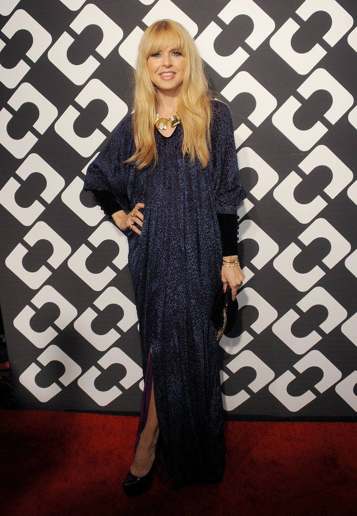 At DVF's Journey of a Dress fete on Friday, Rachel Zoe walked the red carpet after giving birth less than a month ago.