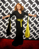 Diane von Furstenberg made a grand entrance.
