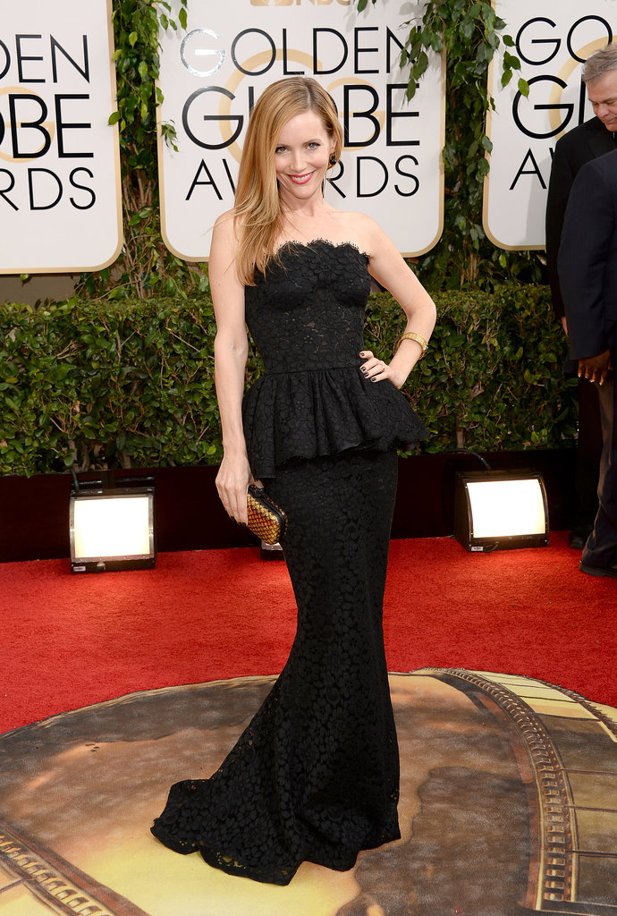 Leslie Mann at the Golden Globes 2014