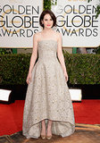 Michelle Dockery at the Golden Globes 2014