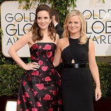 Tina Fey and Amy Poehler at 2014 Golden Globes
