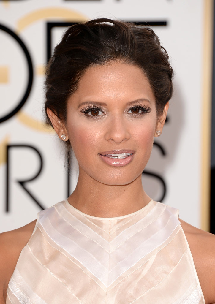 Rocsi Diaz wins the award for best lashes.