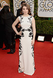 Zosia Mamet at the Golden Globes 2014