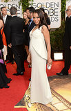 Kerry Washington at the Golden Globes 2014