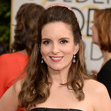 Tina Fey's Hair and Makeup at Golden Globes 2014