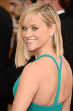 Reese Witherspoon Glows at the Globes With Famous Friends