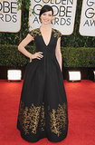 The Good Wife star Julianna Margulies shined on the red carpet.