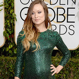 Olivia Wilde Dress on Golden Globes 2014 Red Carpet