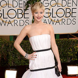 Jennifer Lawrence Dress on Golden Globes 2014 Red Carpet