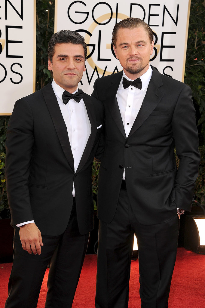 Leo and fellow best actor nominee Oscar Isaac were