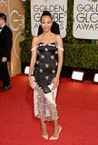 Zoe Saldana took a style risk in her Prabal Gurung gown.