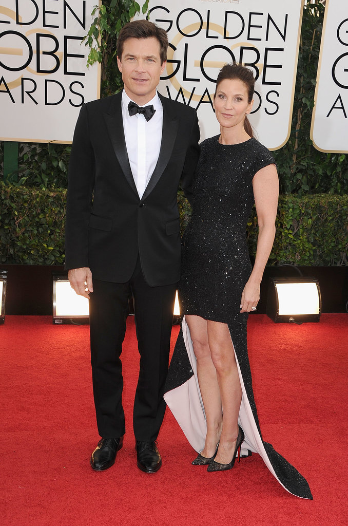 Jason Bateman and Amanda Anka hit the red carpet together.