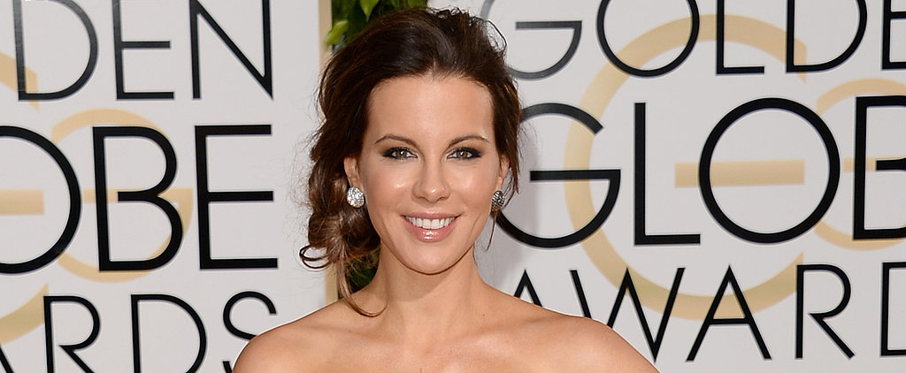 Is Kate Beckinsale's Metallic Shadow the New Smoky Eye?