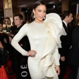 Paula Patton Dress on Golden Globes 2014 Red Carpet