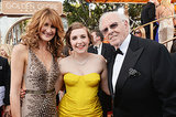 Lena Dunham Was in the Middle of a Dern Family Sandwich