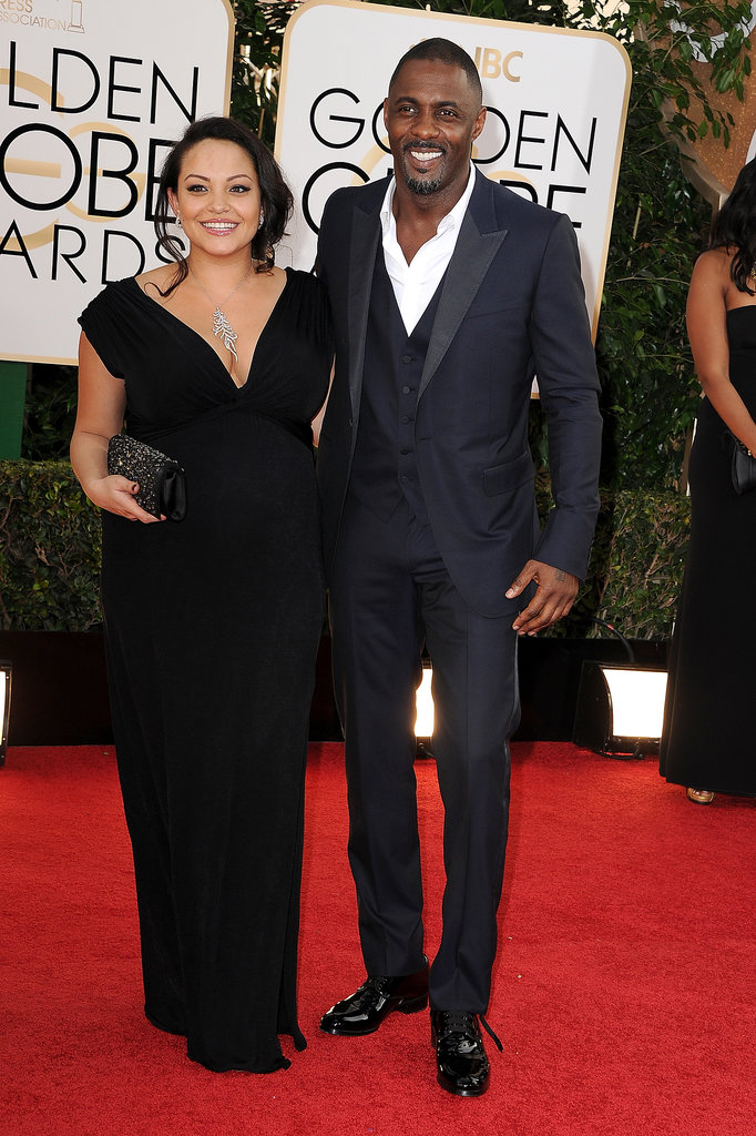 Idris Elba couple