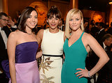 Aubrey Plaza and Rashida Jones met up with Reese Witherspoon during a commercial break.
