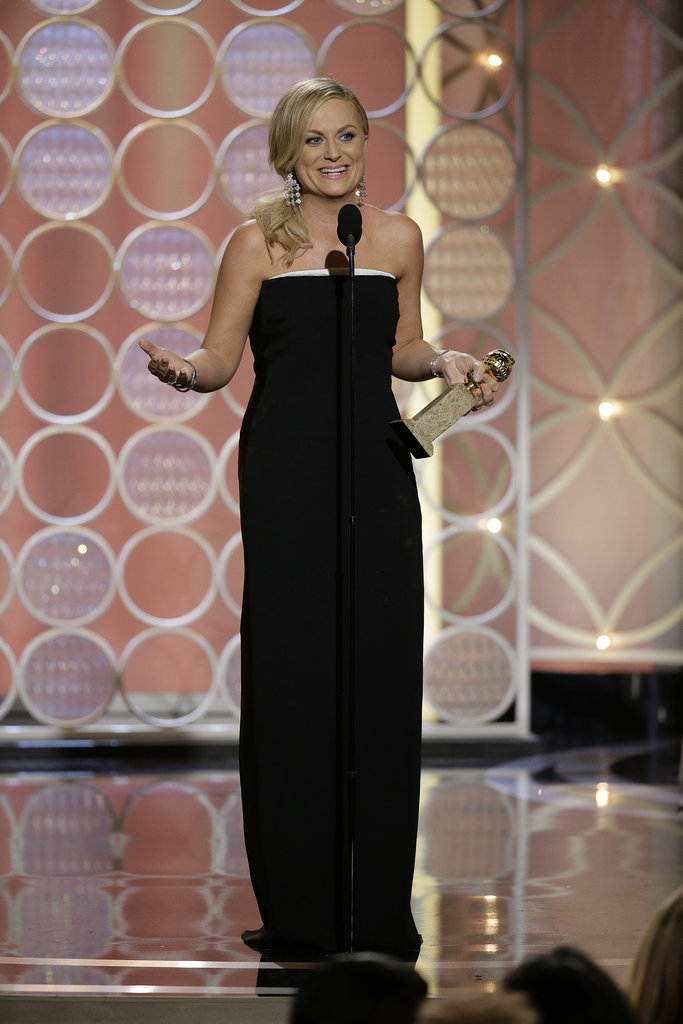 """I never win, so I can't believe I won."" — Amy, who finally won for Parks and Recreation."